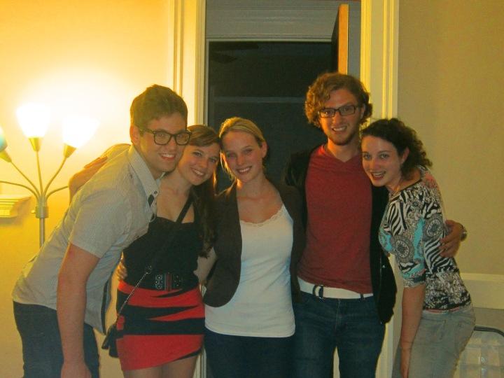 Kyle, Salli, Colleen, Greg, Me