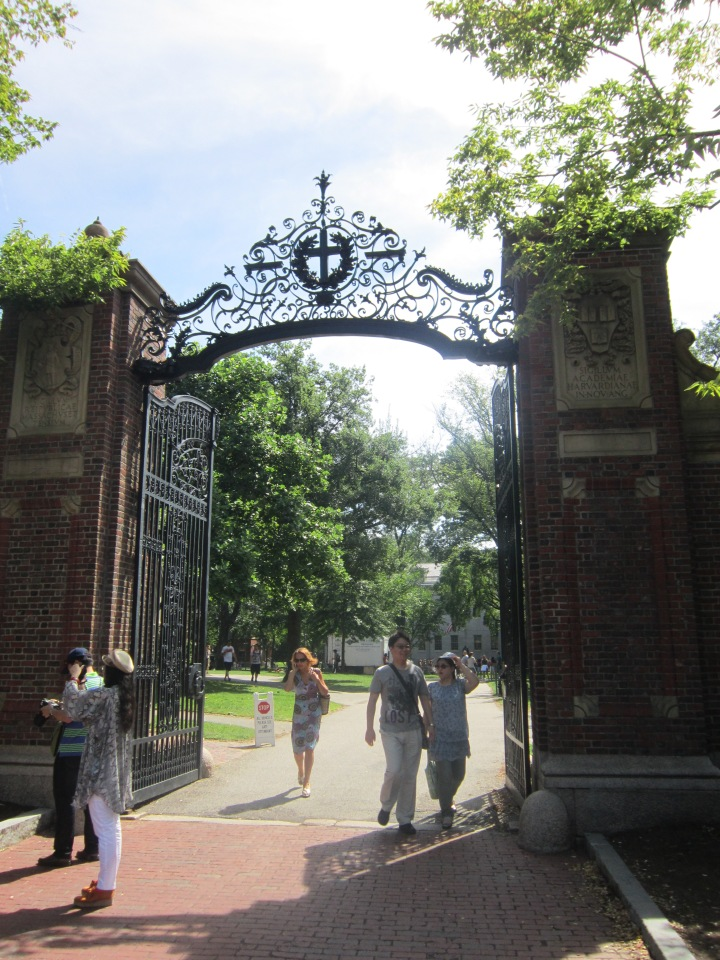 Gates to Harvard