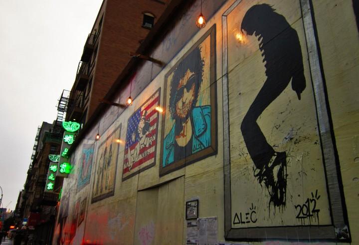 MJ Bowery Mural