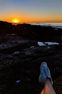 Saunders Rocks Beach Sunset