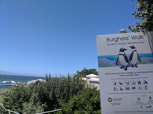 Burghers Walk, Simon's Town