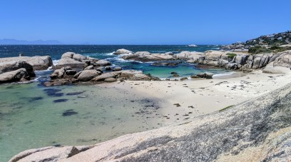 Windmill beach Simons Town Cape