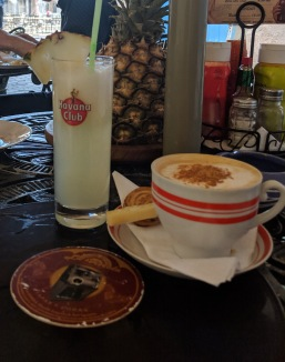 havana club breakfast cuba pineapple juice coffee