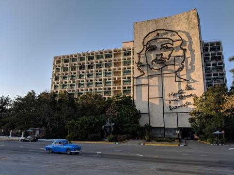 plaza revolucion cuba havana che