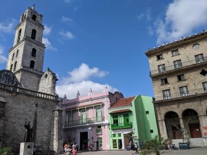 plaza san francisco havana church square